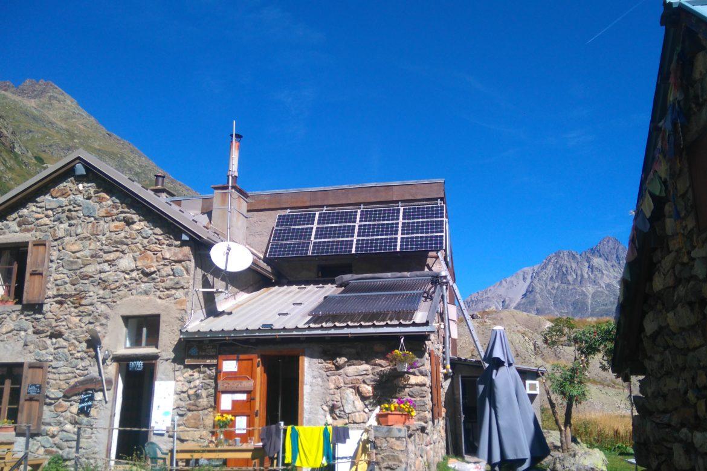 Refuge de La Lavey, autoproduction énergétique